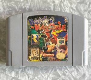N64 Banjo Kazooie AUTHENTIC Nintendo 64 Cartridge Cleaned & TESTED Fast Shipping