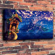 Art Print Disney Oil Painting on Canvas Home Decor - Tangled Rapunzel Dream #420