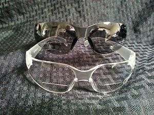 Bifocal-Eyeglasses-Readers-Clear-or-Smoked-Lenses-Frame-Safety-Goggles