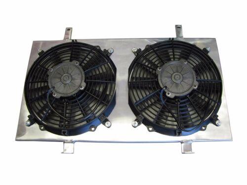 ISR Radiator Aluminum Fan Shroud For Nissan SR20DET S13 IS-FS-SRS13 SLIM FANS