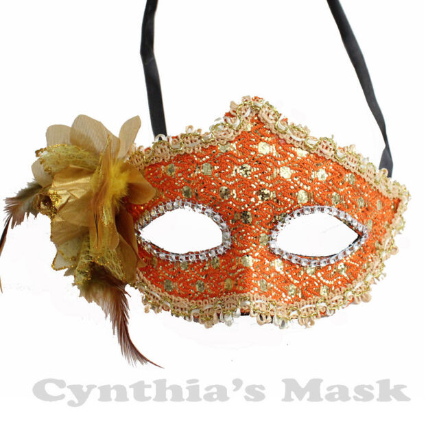 Fun Activities Outdoor Halloween Mask Masquerade Parties Party Mask with Adjustable Strap Mask for Halloween Party