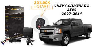 Flashlogic Remote Start for 2009 Chevrolet Express 1500 V6 w//Plug /& Play Harness