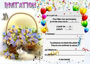 5-12-ou-14-cartes-invitation-anniversaire-chat-ref-452