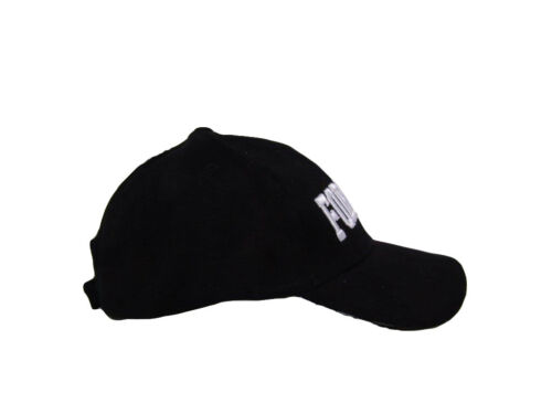 Forensic Officer Police Letters Embroidered 3D Baseball Hat Cap