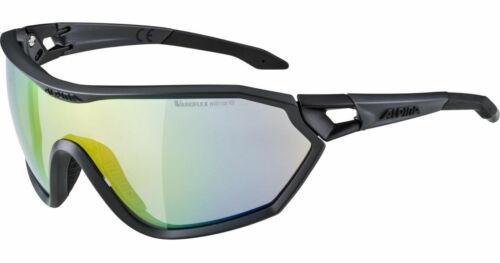 Varioflex grau Alpina Radbrille Freizeit-Wintersport-Brille S-Way L VLM