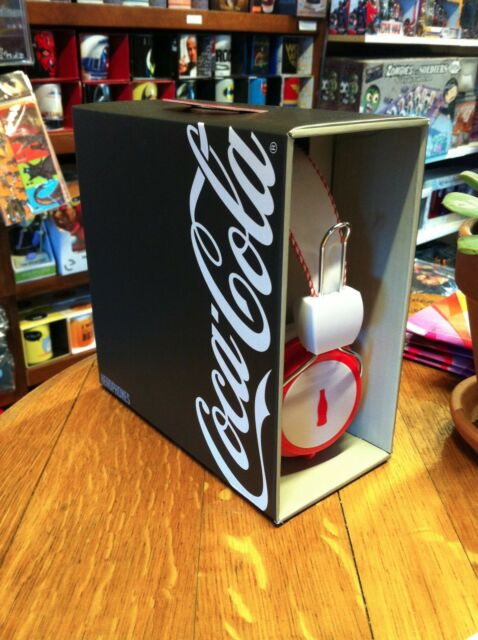 Coca Cola - Headphones - Red & White FAST 'N FREE DELVERY