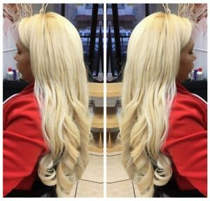 Blonde extensions ebay