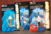 Dollhouse Miniature Electric Lights & Lamps Set A Of 3 1:12 One Inch Scale A59