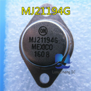 5pcs-MJ21194-MJ21194G-TO-3-Silicon-Power-Transistor