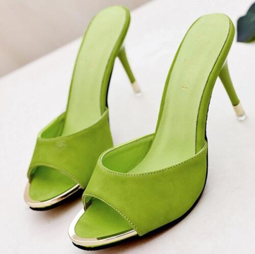 Pour Bout Talons Femmes Hauts Ouvert À Pantoufles Mules Pointues Pompes Chaussures Sandales qZxnFtfH5