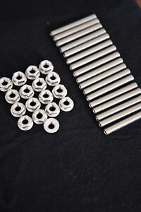 Dodge Ram Hemi 5 7 Exhaust Manifold Stud Bolt Kit Stainless Steel 70mm Ebay