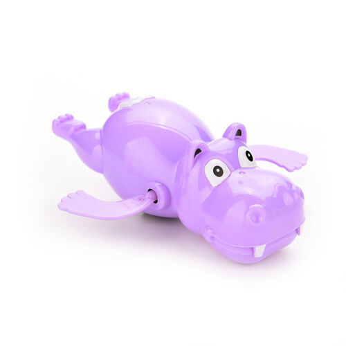 Hippo Baby Kids Bath Toy Clockwork Wind Up Plastic Swimming Toys Best RDR