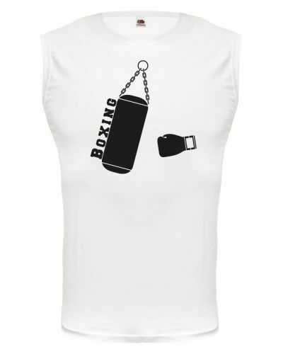 Muskelshirt ärmellos Tank Top Boxing V2 Boxen Boxsport Kampfsport Boxsack