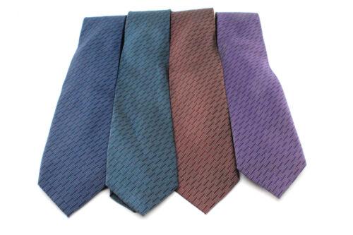 """Bar III Skinny Slim Silk Dress Suit Tie Necktie Giacomo Optical 2.5/"""" Striped"""