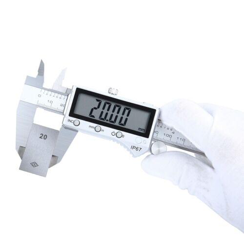Digitaler Messschieber 0-100//150//200//300mm Digital LCD Schieblehre Meßschieber