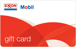 $100 ExxonMobil Gas Gift Card Mail Delivery