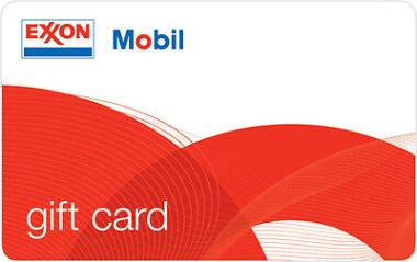 $100 ExxonMobil Gas Gift Card