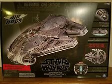 NEW! Air Hogs Star Wars Millennium Falcon XL Radio Commande Drone Factory Sealed