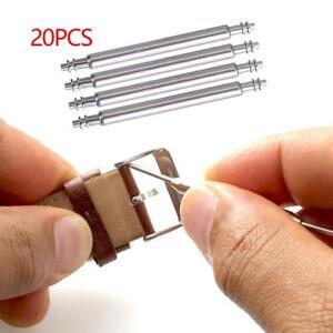 20Stck-1-3mm-Stege-Federstifte-Edelstahl-Federstege-Uhrenstifte-Watch-Spring-Bar