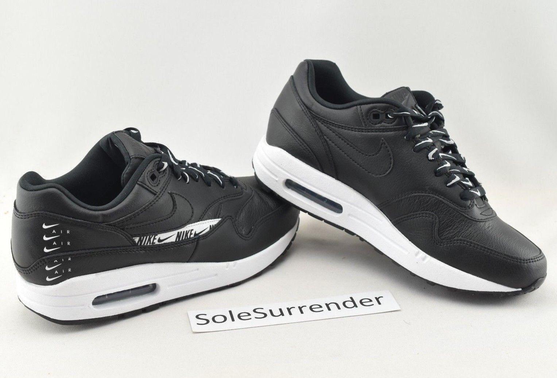 Women's Nike Air Max 1 SE - SIZE 7.5 - 881101-005 JDI Just Do It QS White Retro