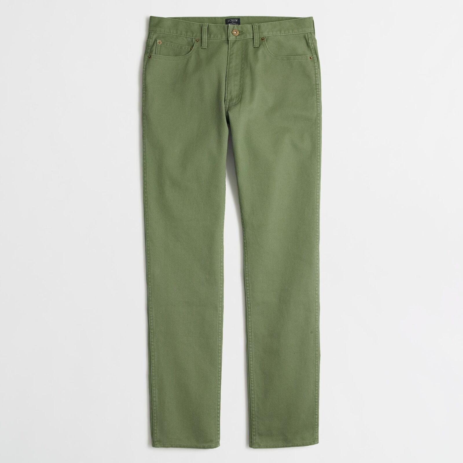 J. Crew Factory - 32 32 - NWT  - Green Slim Fit Bedford Corduroy Cotton Pants