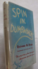 US Military Aviation History Army Air Force Spin In Dumbwhacks DJ 1st Ed. 1943