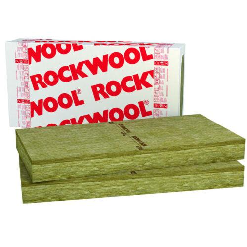 20mm Rockwool Steinwolle Fassaden Laibung Dämmung Frontrock Max Putzträgerplatte