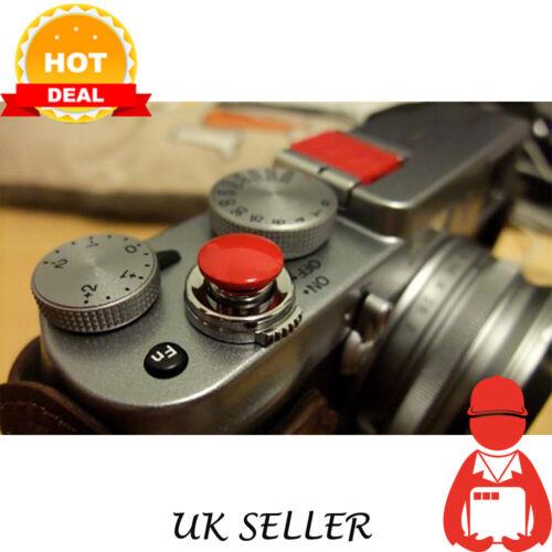 UK Release botón del obturador para Canon F-1 AE-1 Nikon FM2 F3 OM-1 Cámara Envío rápido