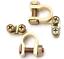 2-Pcs-Terminal-Clamp-Clips-Aluminum-Positive-amp-Nagative-for-Battery thumbnail 1