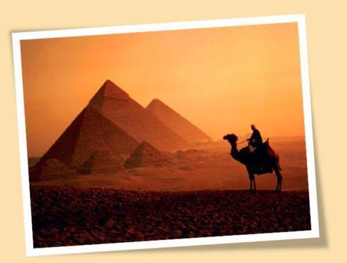 EGYPTIAN PYRAMID EGYPT MATTE ART PRINT POSTER SIZE
