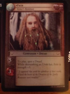 Lord of  Rings CCG Mines of Moria 2C6 Fror Gimli/'s Kinsman X2 TCG LOTR