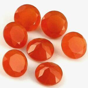 7mm Cabochons Carnelian Loose gemstones 10 Carnelian Gemstones Wholesale Gemstones