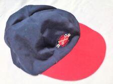 Master Mechanic Men Baby Boys Hat Cap Navy Blue Red Size 24 M Cotton Blend New