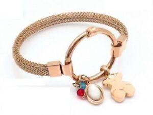 Stainless-steel-Vacuum-gold-plating-agate-Chalcedony-Pendant-Bear-Bracelet-01