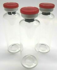30ml Sterile Clear Glass Vials 5 Pack Free Shipping