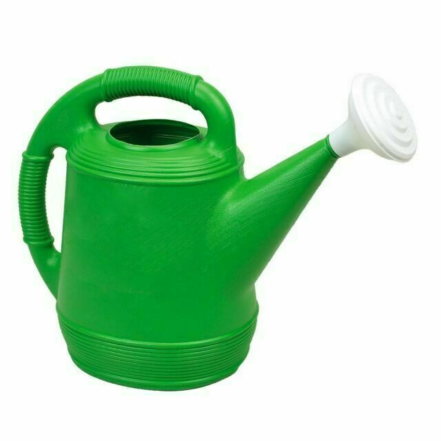 Missry Associates Misco Plastic Watering Can, 2-Gallon - Lim
