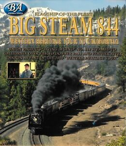 Big-Steam-844-Union-Pacific-Western-Heritage-Tour-To-California-Blu-ray-Video