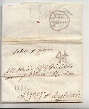 1798 REP.VENEZIA lett.VENEZIA-ANGHIARI v.LEGNAGO-bollo VENEZIA+TASSA 4 1/2-i488