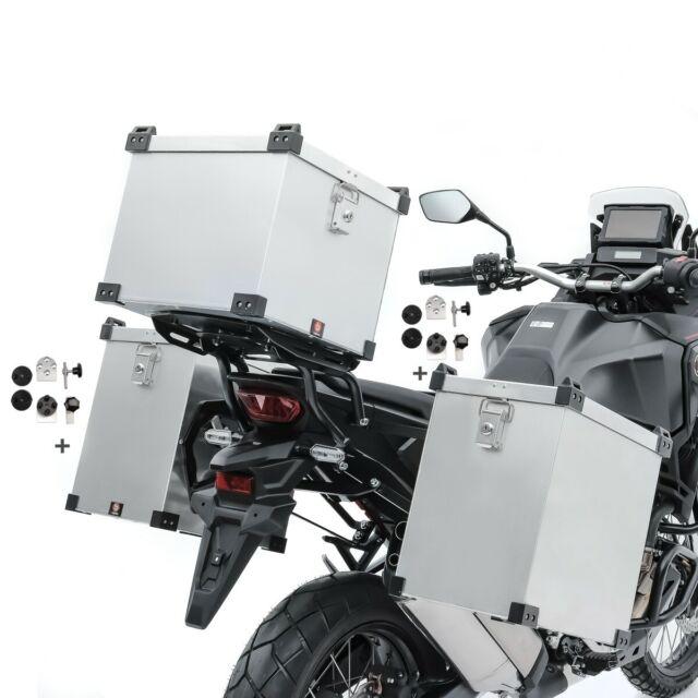 Alu Side cases 2x41l kit for Aprilia Caponord 1200// Rally// ETV 1000