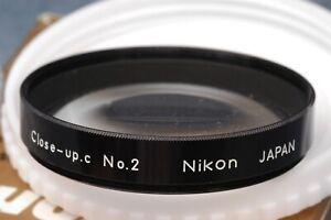 NIKON-F-F2-ERA-CLOSE-UP-ATTACHMENT-LENS-NO-2-IN-CASE-amp-BOX-FREE-USA-SHIPPING