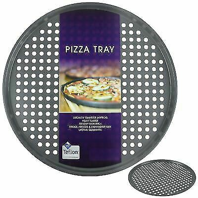 Prochef Teflon Non Stick Large 14inch Carbon Steel Pizza Tray Storage Protection For Sale Online Ebay
