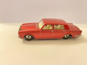 Vintage Matchbox Lesney No 24c Rolls Royce Plata Sombra emitido 1967 (861)