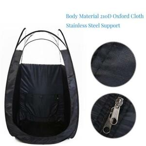 Spray-Tan-Tanning-Pop-Up-Portable-Tent-With-Carry-Bag-Clear-Top-High-Quality