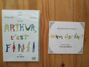 COMBO-DVD-Bande-Originale-034-Arthur-c-039-est-fini-034