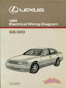image is loading shop-manual-gs300-1993-lexus-electrical-wiring-diagram-