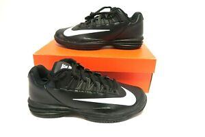 new arrival 3a1d4 6cab6 Image is loading Nike-Lunar-Ballistec-1-5-Tennis-Shoes-Black-