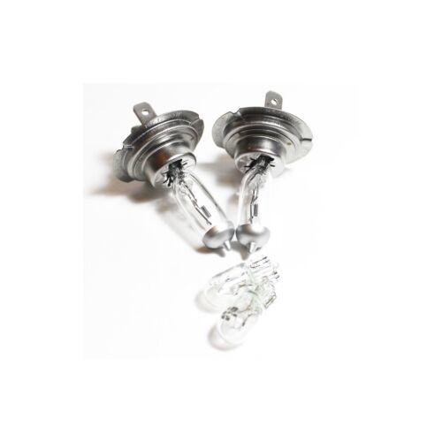 Vauxhall Meriva MK1//A H7 501 100w Clear Xenon HID Low//Side Headlight Bulbs Set