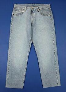Replay-jeans-uomo-usato-regular-vintage-W40-tg-54-denim-blue-boyfriend-T5721