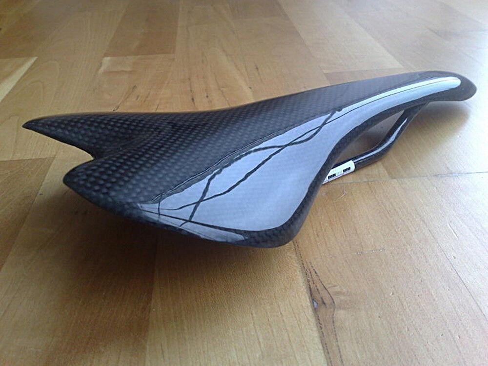 Carbon Fahrrad Sattel - 3 K Design m-bikeparts für für für Gazelle. 218755