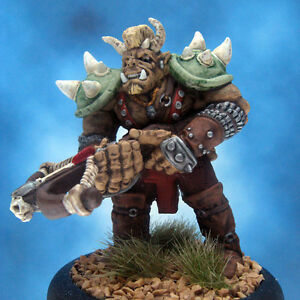 Painted-Ral-Partha-MageKnight-Miniature-Troll-Artillerist-II